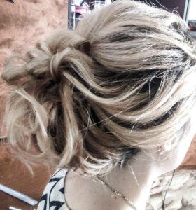 Плетение кос и причёски