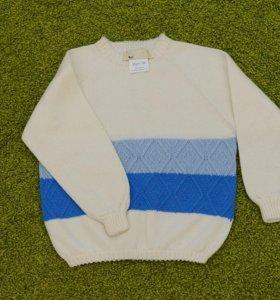 Шерстяной свитер новый 93-98р