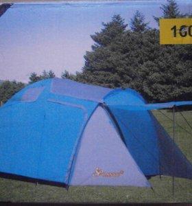 Кемпинговая 3-х местная палатка 1607 с доставкой