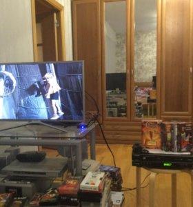Видеомагнитофон +DVDплеер Samsung SV-DVD3BE