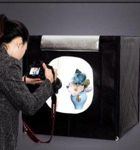 Компактная фото студия в домашних условиях