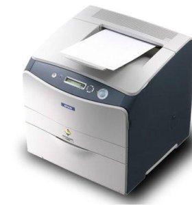 Цветной лазерный принтер Epson