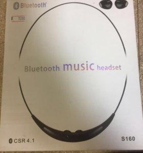 Музыкальные Bluetooth наушники