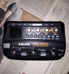 Процессор эффектов Nux MG-200