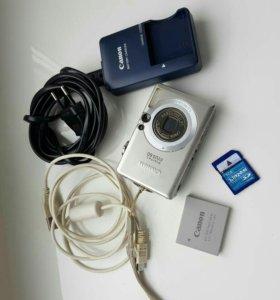 Компактный фотоаппарат Canon Digital ixus 60