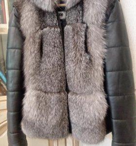 Чернобурка куртка