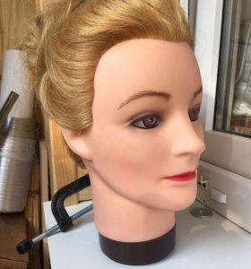 Манекен для причёсок ( болванка)