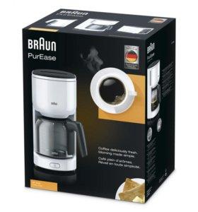 Капельная кофеварка Braun KF 3100