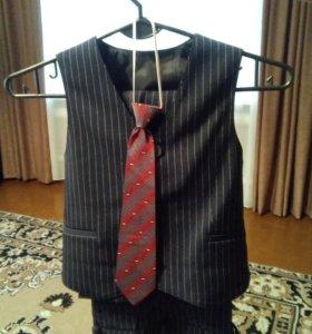 Костюм первоклассника (тройка+галстук)