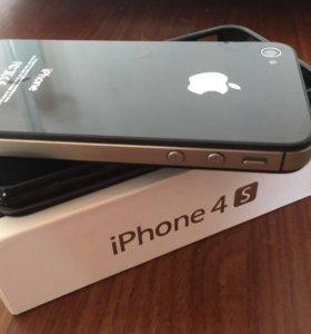 Телефон IPhone4S 16 GB (чёрный)