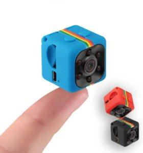 Портативный мини Камера SQ11 HD+флешка
