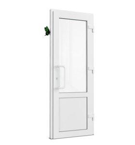 Двер пластиковые ПВХ и AL алюминивые