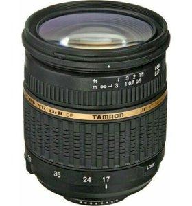 Объектив Tamron SP AF 17-50mm f/2.8 XR