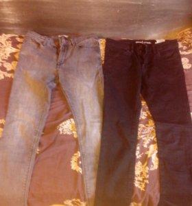 джинсы 2 пары