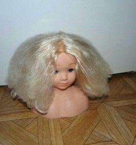 Кукла чтобы тренероваться заплетать косы