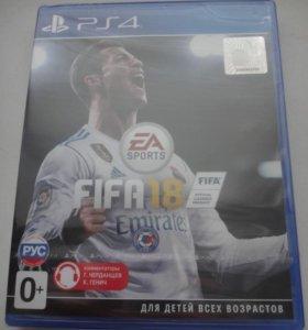 FIFA 18 новая в заводской пленке