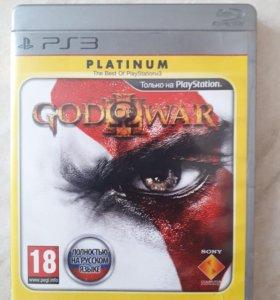 Игра на PS 3 God of war 3