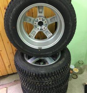 Продаю шины на дисках (новые)!