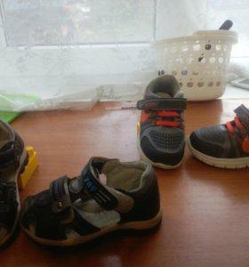 кроссовки,сандалии