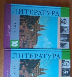 Учебники по литературе за 10 класс.