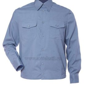 рубашка с погонами разм 50-3 ворот 41-3
