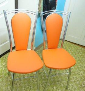 Продам два новых металлических стула для кухни.
