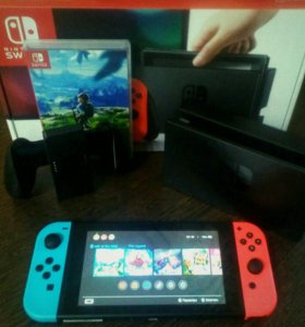 Nintendo Switch (+ 9 игр)