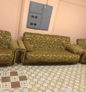 Мягкая мебель ANDERSSEN,диван+2кресла