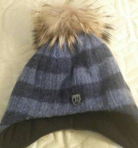 шапка с нат.мехом Енота фирмы Котик р-р 52-54