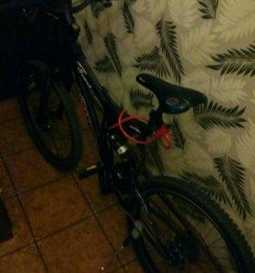 Настоящий двухподвесной, усиленный велосипед