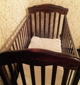 Детская кроватка Гандылян Шарлотта с универсальным