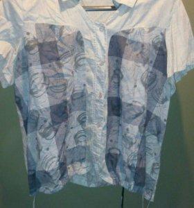 Батник рубашка р 52-54