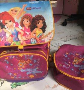 Рюкзак Lego friends для девочки