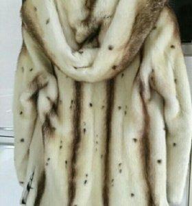 Норковая шуба 44-46