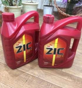 Продаю масло SK ZIC ATF 3 synthetic