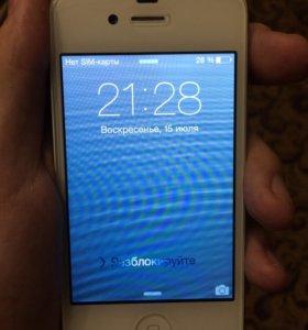 iPhone 4s 16gb (Белый, Восстановленный)