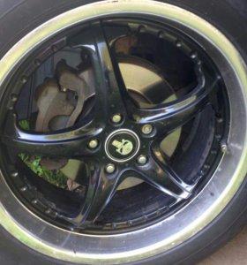 летние колеса Dunlop R19