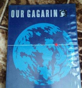 Альбом книга Наш Гагарин англ