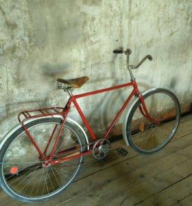 Винтажный ретро велосипед ссср