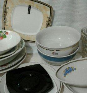 Посуда!!!много!!!