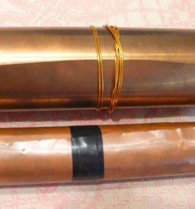 Медь и латунь листовые в рулоне