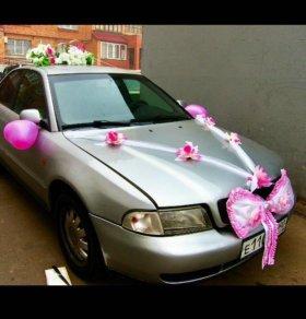 Свадебные украшения на машины