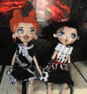 Куклы . Ручная работа