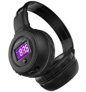 Наушники Bluetooth mp3 fm radio