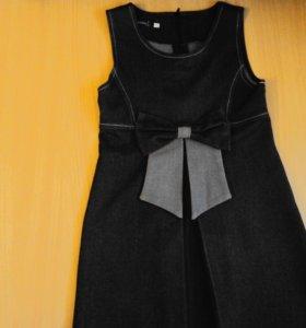 Шк. платье р.118-128