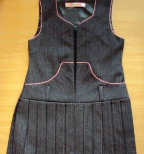 Шк. платье на 6-8 лет