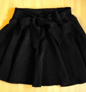 Школьная юбка на 6-8 лет