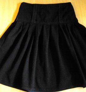 Школьная юбка на 7-9 лет