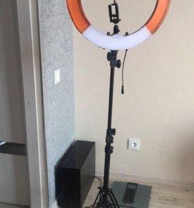 Кольцевой свет Fosoto rl-18 55 Вт 5500 К 240