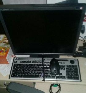 Экран + клавиатура + мышь
